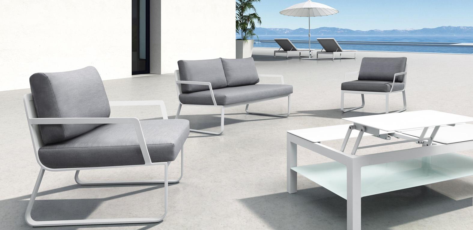 Aluminium Loungeset Salerno