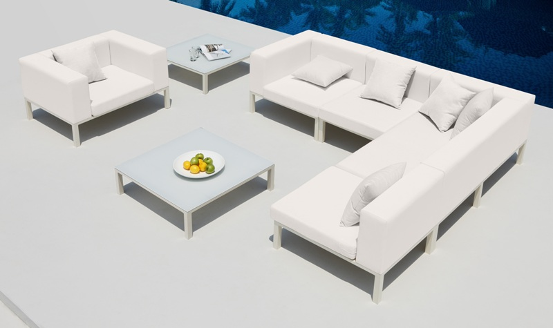 Witte Loungeset